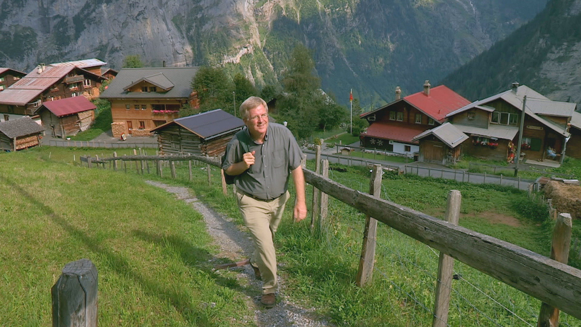 Rick Steves show photo