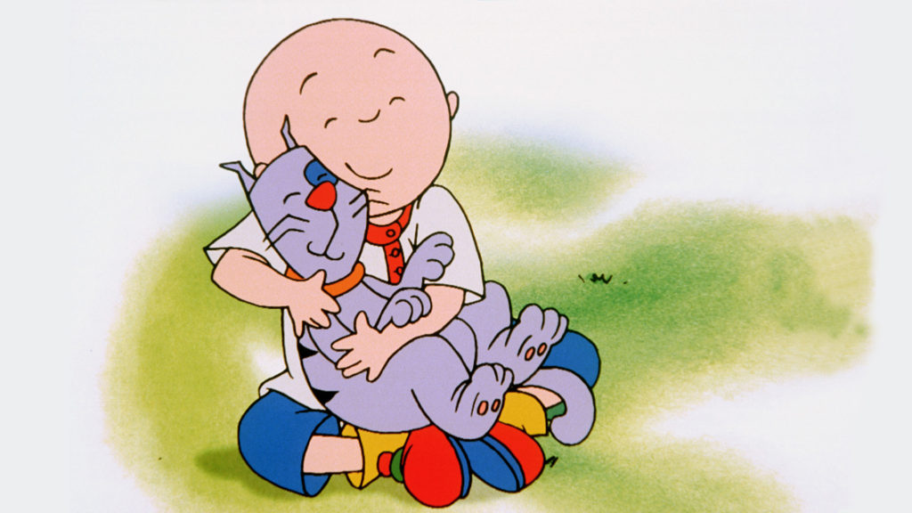 Caillou show image