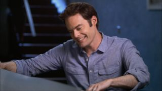 Comedian Bill Hader on an episode of Finding Your Roots.