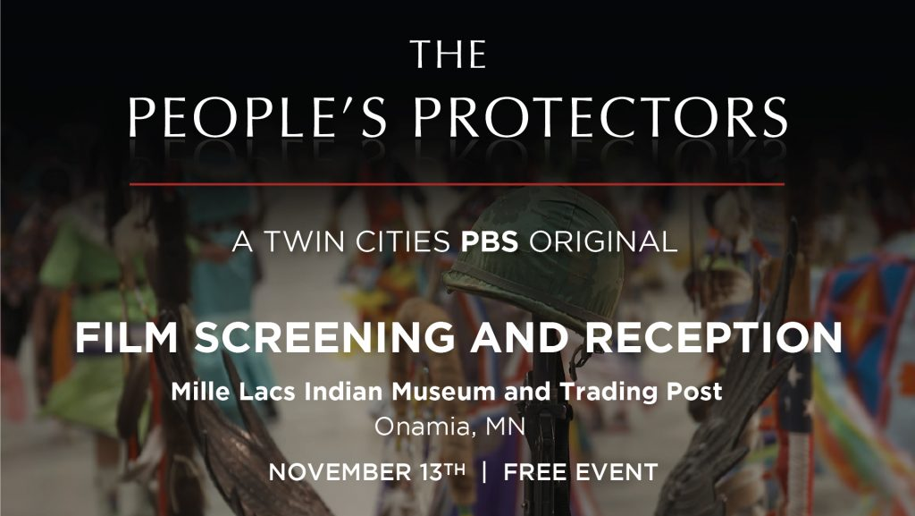 The People's Protectors Screening and Reception Mille Lacs Indian Museum