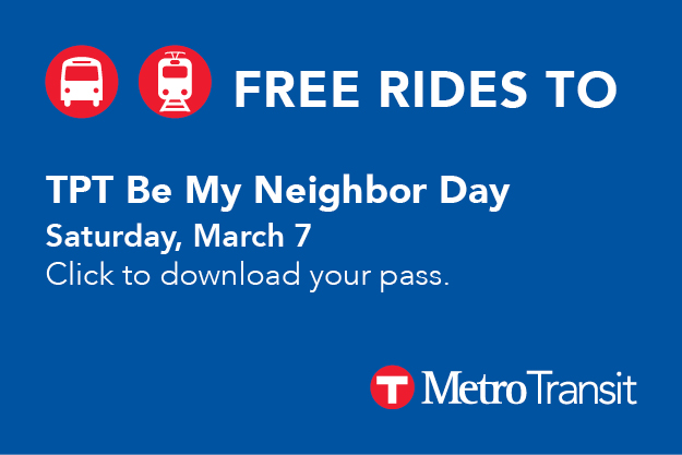 Free Rides to Be My Neighbor Day